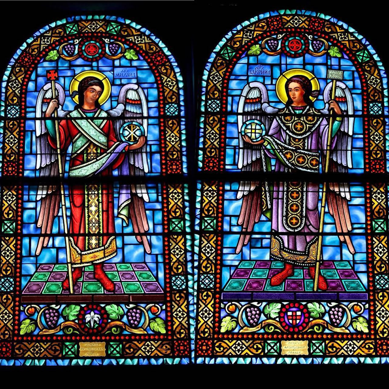Stained Glass of Miami Installation for a Church