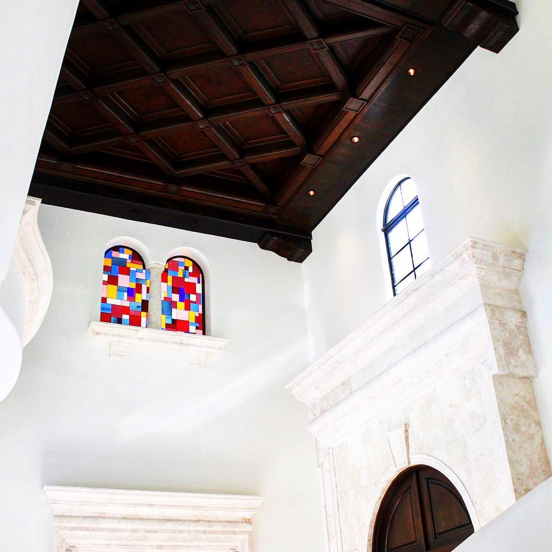 Coconut Grove Residential Mantion - Stained Glass of Miami